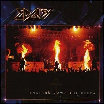 "Double Cd Edguy ""Burning Down The Opera Live"" 16 Titres Neuf Sous Blister Scelle"