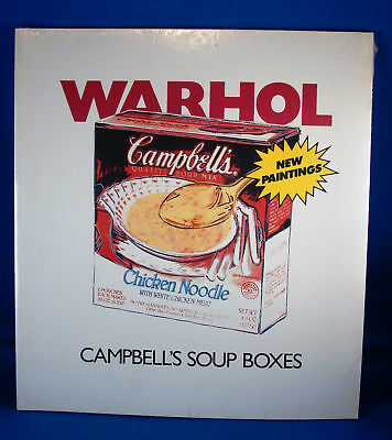 """Campbell's Soup Boxes"" by  Andy Warhol  **Unopened**"