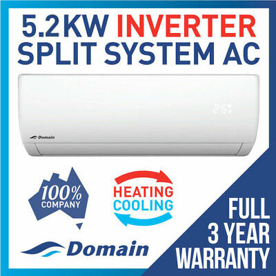 New Domain Premium 5.1Kw Inverter Reverse Cycle Split System Air Conditioner Ac
