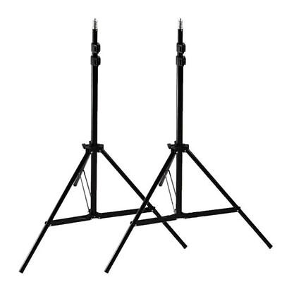 2x7ft Photography Light Stand Tripod for Photo Studio Softbox Boom Lighting Kit