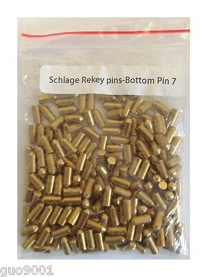 200 Pieces Schlage Rekey Bottom Pins #7 Locksmith Rekeying Pin Keys Kits