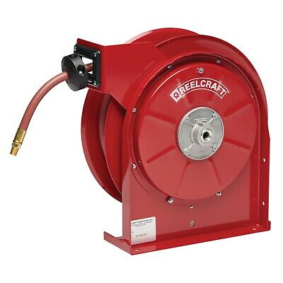 "REELCRAFT 5450 OLP  1/4"" x 50ft. 300 psi for Air & Water service with Hose"