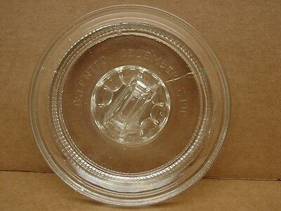 Replacement Lid for Glass Humidor / Patented December 7, 1915