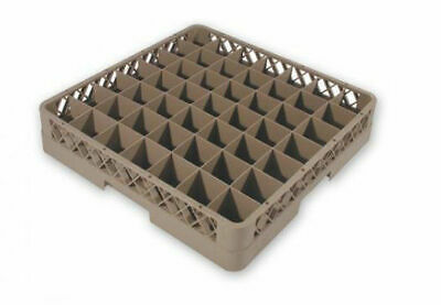 """""""FREE POSTAGE"""" 69809 DISHWASHER GLASS RACK 49 COMPARTMENT 500X500mm"""