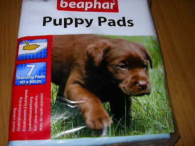 Beaphar Puppy House Training Pads 7 pads 60x60 cm