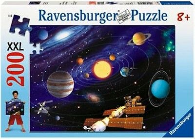 RAVENSBURGER Solar System 200 Piece Puzzle Jigsaw NEW * explore space planets