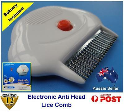 New ELECTRONIC Head Nit LICE COMB - Chemical Free Safe to Use + FREE GIFT!