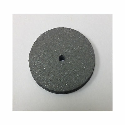 Grey Rubber Polisher Wheels for Metals and Porcelain Besqual 100/Box