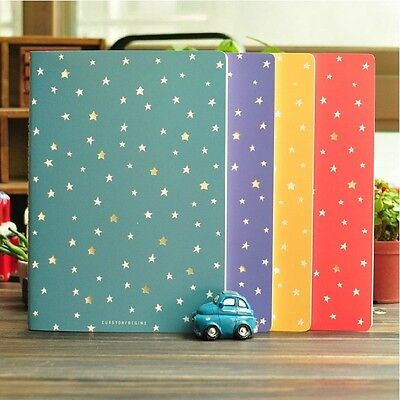 """""""Starry Night"""" Pack of 4 Lines Big Cute Diary Planner Study Business Notebook"""
