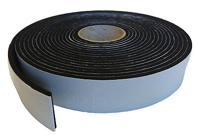 Neoprene Sponge/foam Self Adhesive Strip 5Mtr & 10Mtr 3Mm, 6Mm, 8Mm, 10Mm Thick
