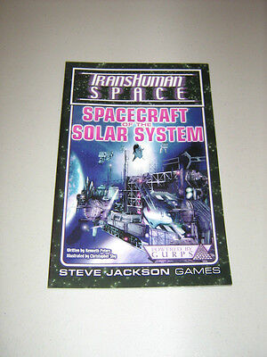 GURPS: Transhuman Space: Spacecraft of the Solar System (New)