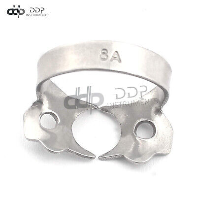 Endodontic Rubber Dam Clamp #8A Surgical Dental Instruments