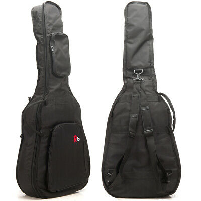3/4 36'' Classical 10mm Padded Acoustic Guitar Gig Bag Carry Case Gigbag New