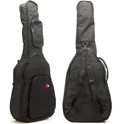 Rio 3/4 36'' Classical 10mm Padded Acoustic Guitar Gig Bag Carry Case Gigbag New