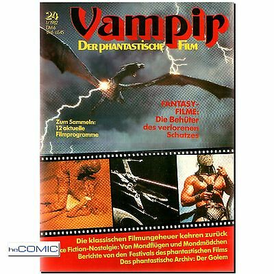 Film Zeitschrift Vampir 24 Der PHANTASTISCHE FILM Science Fiction HORROR Vampire