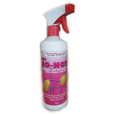 NRG No Nots Hair Polish horse pony dog detangles show stables kennels 1lt