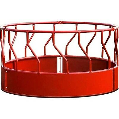 "NEW! Behlen Country Super Duty Bale Feeder With S-Bar 96""L x 96""W x 51-1/2""H-Red"