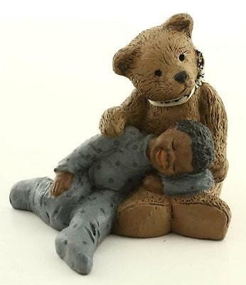 1987 All Gods Children PADDY PAW & LUKE Resin Art Figurine Martha Holcombe 1551