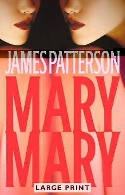Mary Mary by James Patterson Large Print Detective Alex Cross 2005 HCDJ