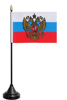 Russian Federation Russia Presidential Standard Polyester Table Desk Flag