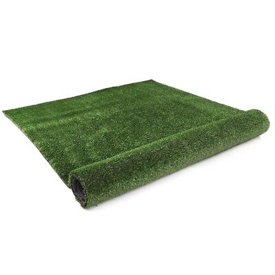 Artificial Grass Synthetic Turf 10 SQM Plastic Olive Plant Lawn Flooring 1X10M