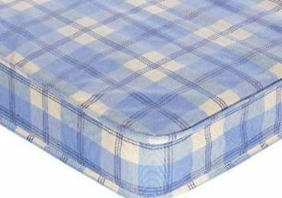 Budget Mattress Chequered 2Ft6 Small Single Shorty Cheap Mattresses