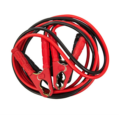 25mm 5500cc Car Van Truck Boat Tractor Jump Leads Booster Cables 800 AMP 4 Metre