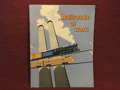 Railroads At Work - Fifth Edition - Library Of Congress