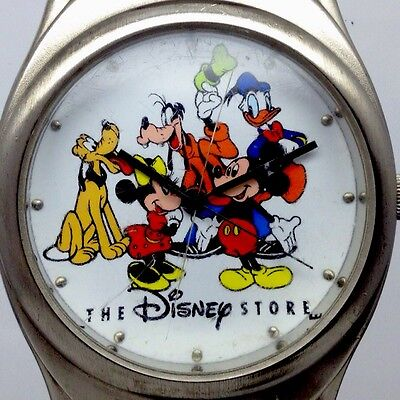 DISNEY MICKEY MOUSE & FRIENDS collection Character Watch Lot