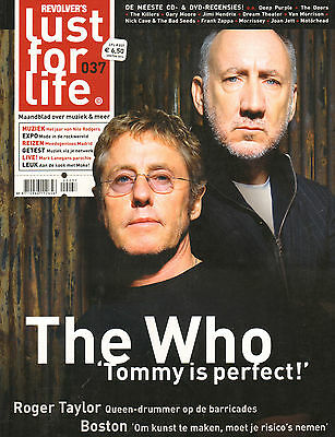 MAGAZINE LUST FOR LIFE 2014 nr. 037 - THE WHO / ROGER TAYLOR / BOSTON /JAKE BUGG