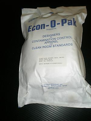 Cleanroom Lab Apparel Pack 5X With Xl Mask White 30 Pcs