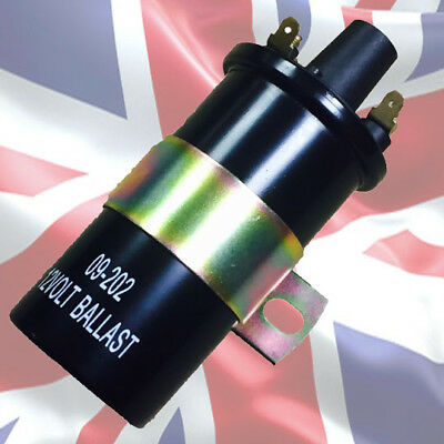Black Ballast Ignition Coil From Stealth replaces Lucas DLB102
