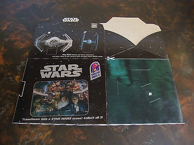 Star Wars---Taco Bell---A New Hope---Trilogy Box---1996---Unused & Still Flat