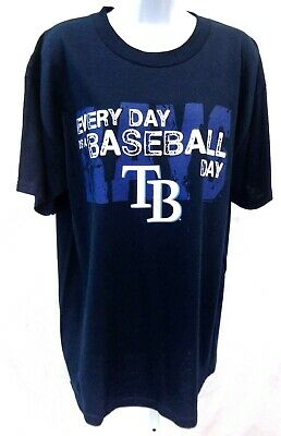 Tampa Bay Rays Baseball Short Sleeve T-Shirt Navy