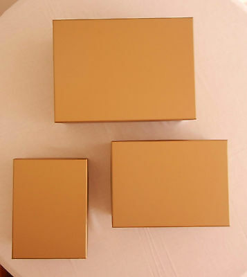 Rectangular Cardboard Boxes in 3 sizes for all occasions