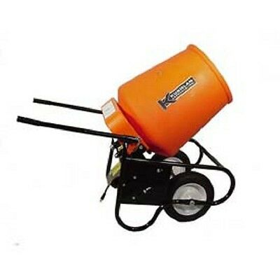 NEW! Kushlan Products 350W Fully Assembled Wheelbarrow Cement Mixer!!