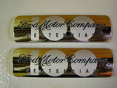 NOS 2003 100th Anniversary Ford Emblems Mustang Focus Taurus Truck