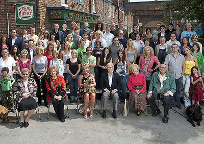 Coronation Street Cast 05 Photo Print