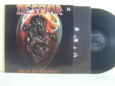 Lp-Despair-Decay Of Humanity-Germania 1990-Mint