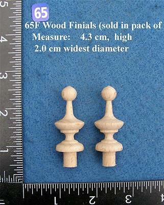 *Pair of Clock / furniture Finials Style 65F