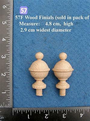 *Pair of Clock / furniture Finials Style 57F • EUR 13,16