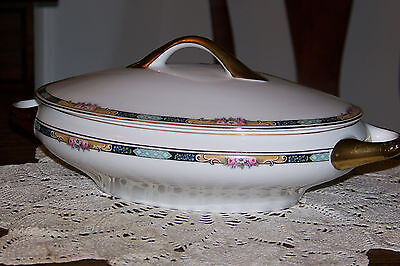 KPM Germany - 27044/4576 - Covered Oval Serving Bowl