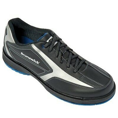 Brunswick Stealth Mens Right Handed WIDE WIDTH Interchangeable Bowling Shoes