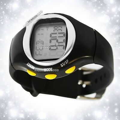 Super LED Pulse Heart Rate Monitor Calories Counter Fitness Watch Brand New