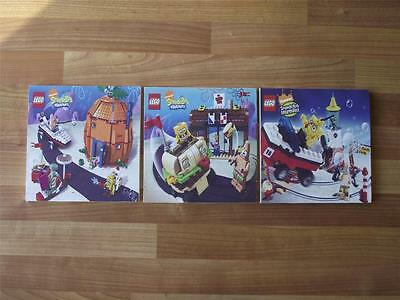 Lego Spongebob Squarepants Canvas Wall Art Plaques/pictures - Free Post
