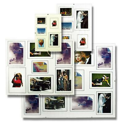 frameless picture frame gallery, normal glass, Passe-partoutwith cutouts