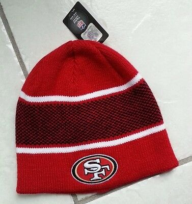 cabae001f23b79 NFL '47 Forty Seven Brand San Francisco 49ers Team Headwear One Size Red  Beanie
