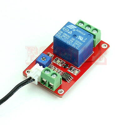 12V DC 1 Detection Control Switch Channel Thermistor Relay Sensor Temperature