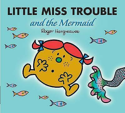 Little Miss Trouble and the Mermaid (Sparkly Mr. Men Stories), Roger Hargreaves,