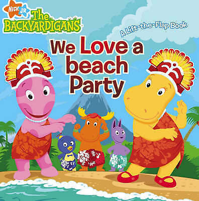 We Love a Beach Party! (Backyardigans), Nickelodeon, New Book